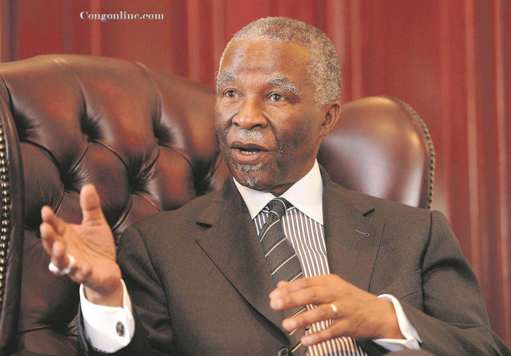 Politik Presiden Mbeki Di Republik Demokratik Kongo